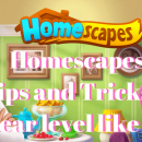 homescapes tip and tricks